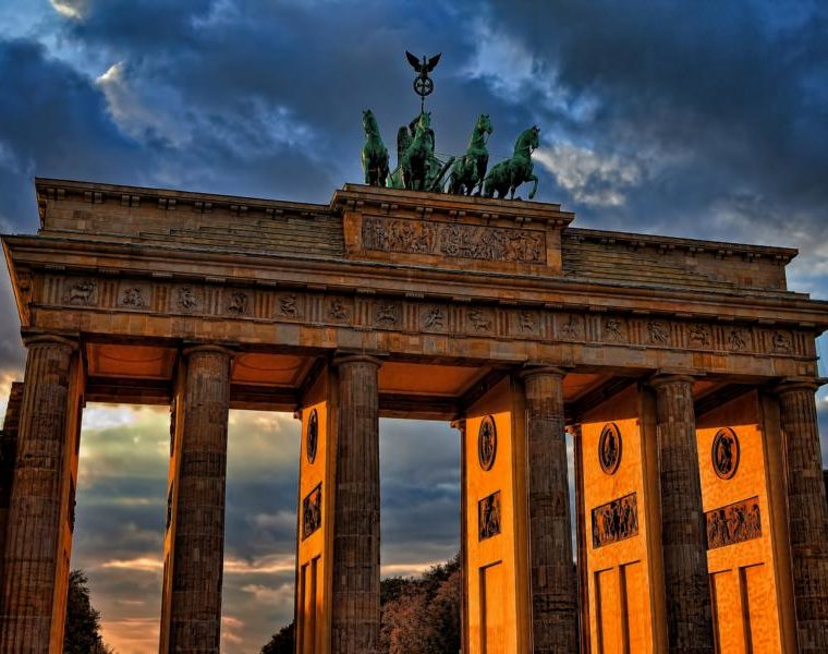 Brandenburger Tor, Deutschland Rundreise