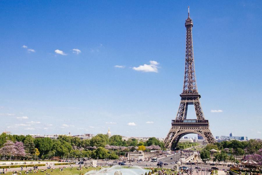 Eiffelturm, Paris, Frankreich Rundreise