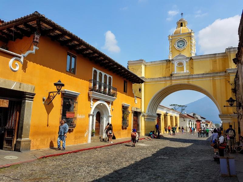 Antigua, Guatemala Reisen