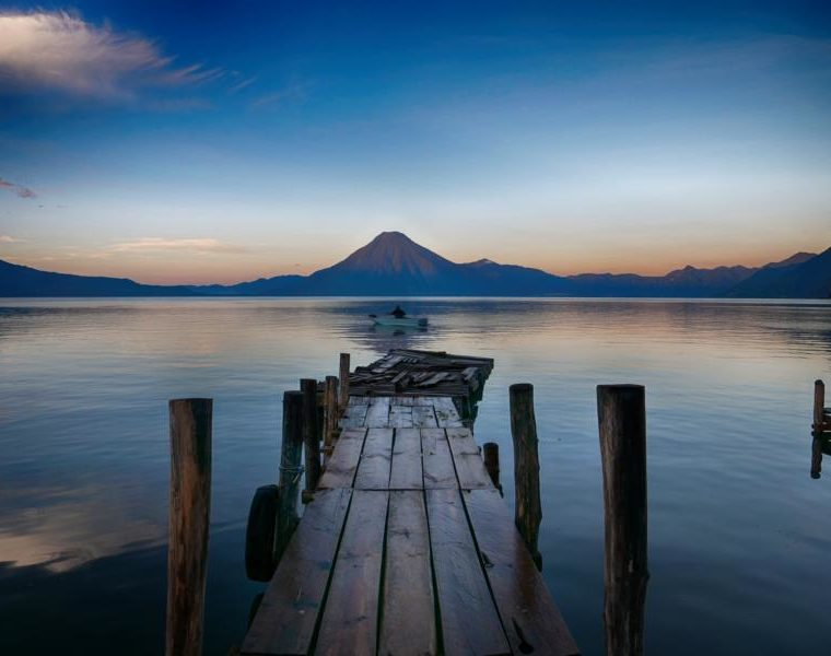 Panajachel am Lago de Atitlán, Guatemala Reisen