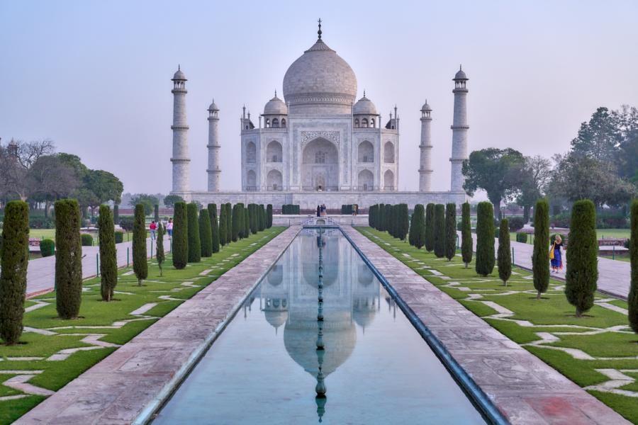 Taj Mahal, Agra, Indien Reisen