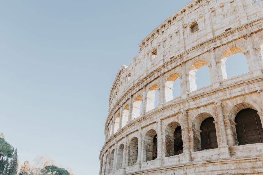 Kolosseum in Rom, Italien Rundreisen