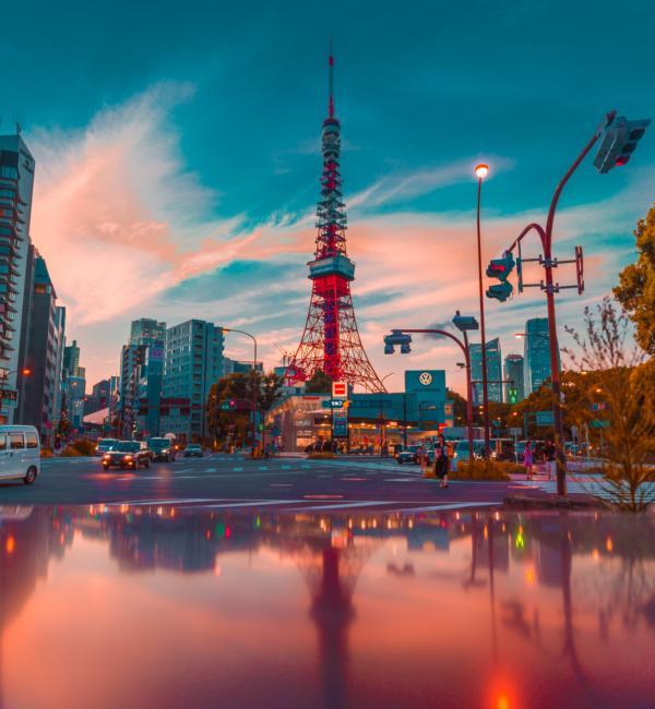 Tokyo Tower, Japan Reisen