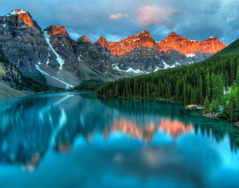 Alberta Lake, Kanada Rundreise