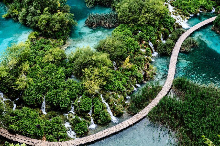 Plitvice Lake, Kroatien Rundreise