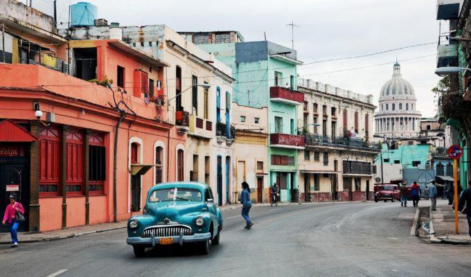 Oldtimer, Kuba Rundreise