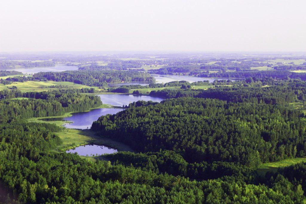 Seen und Wälder, Litauen Rundreise