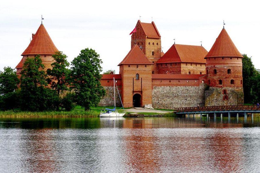 Trakai Burg, Litauen Rundreise