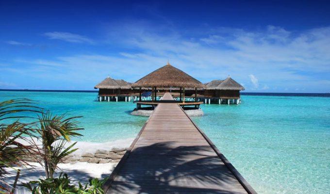 Hütte am Strand, Malediven Rundreise