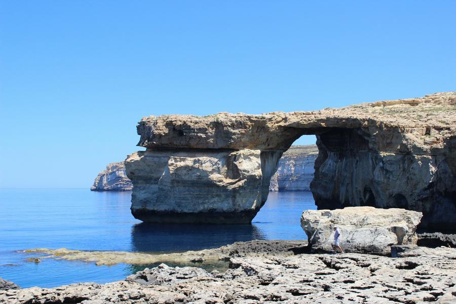 Blaues Fenster, Malta Rundreise