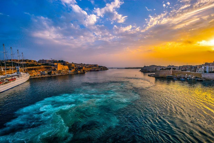 Hafen, Malta Rundreise