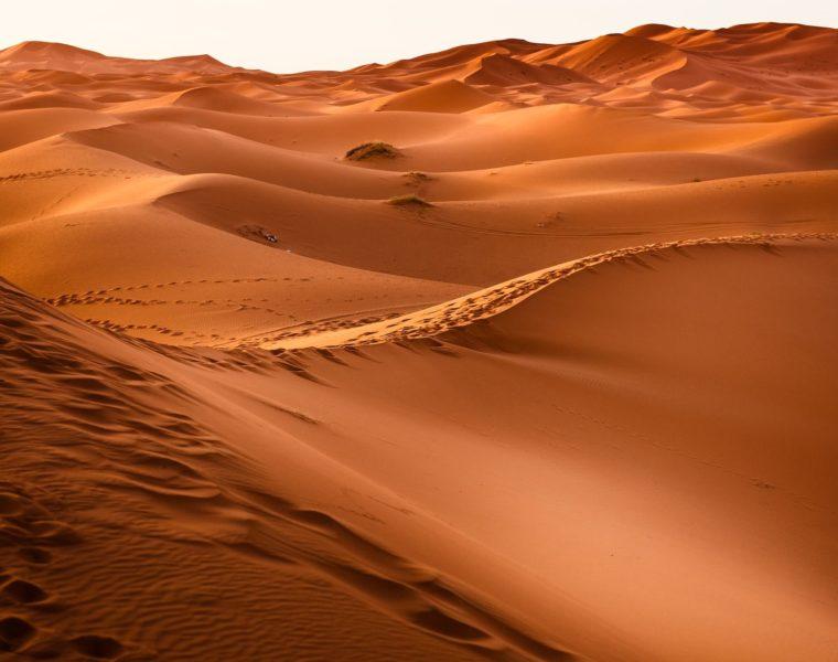 Sanddünen, Wüste, Marokko Rundreise