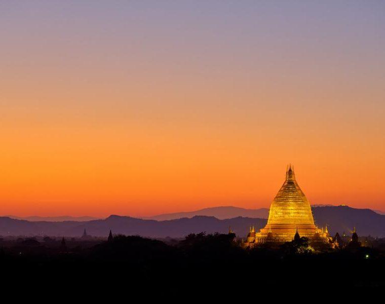 Goldene Pagode, Myanmar Rundreise