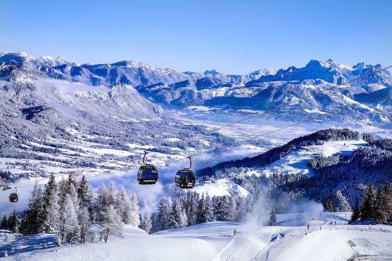 Elmau in Tirol, Österreich