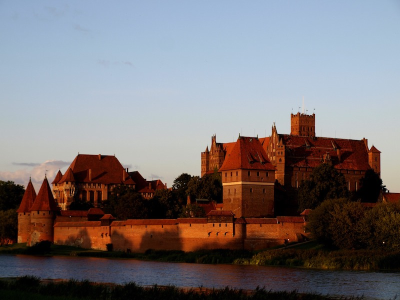 Marienburg in Malbork, Polen