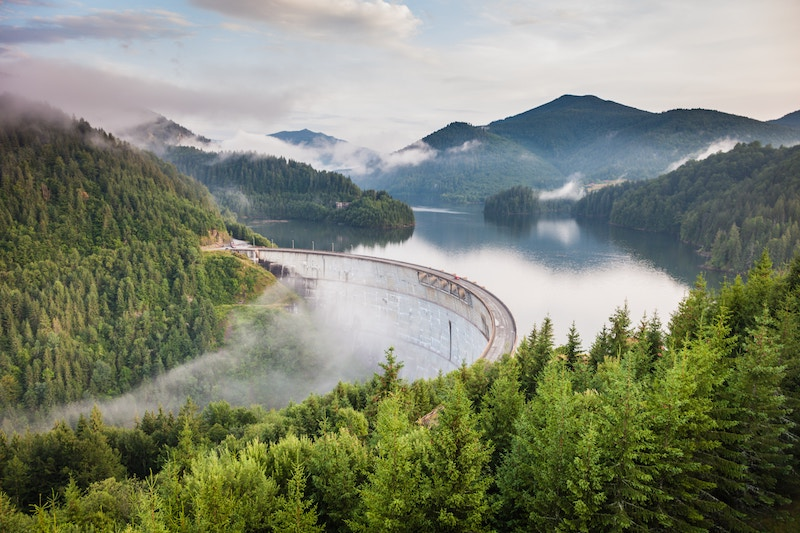 Barajul-Drăgan, Rumänien