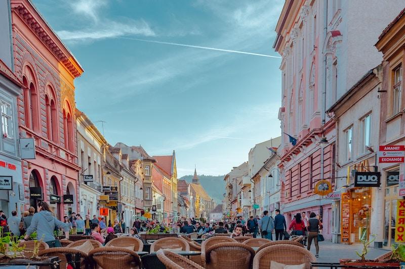 Innenstadt von Brașov