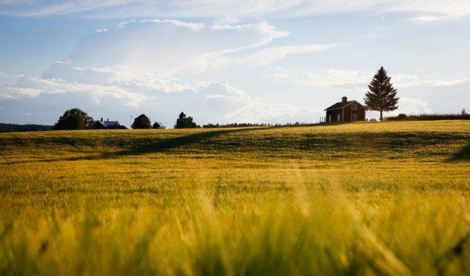 Landschaft, Schweden Reisen