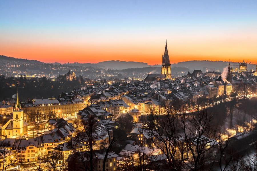 Bern, Schweiz Reisen