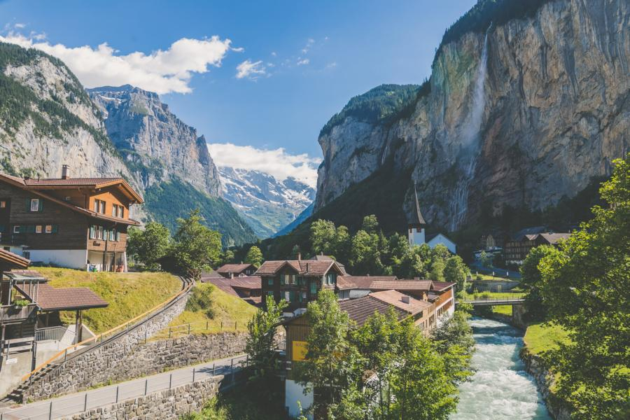 Lauterbrunnen, Schweiz Rundreisen