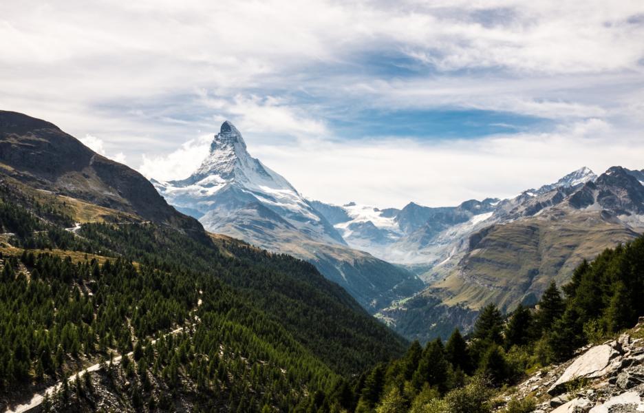 Matterhorn, Zermatt, Schweiz Reisen