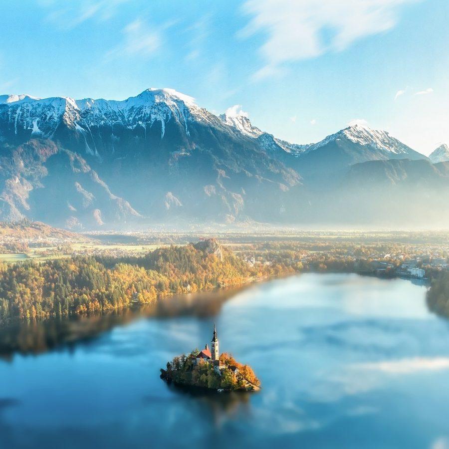 See von Bled, Slowenien Reisen