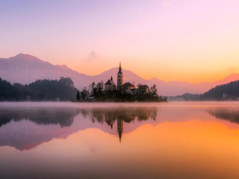 Bleder See, Slowenien Reisen