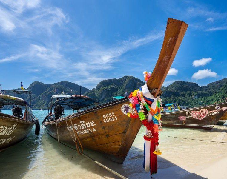 Boote, Thailand Rundreise