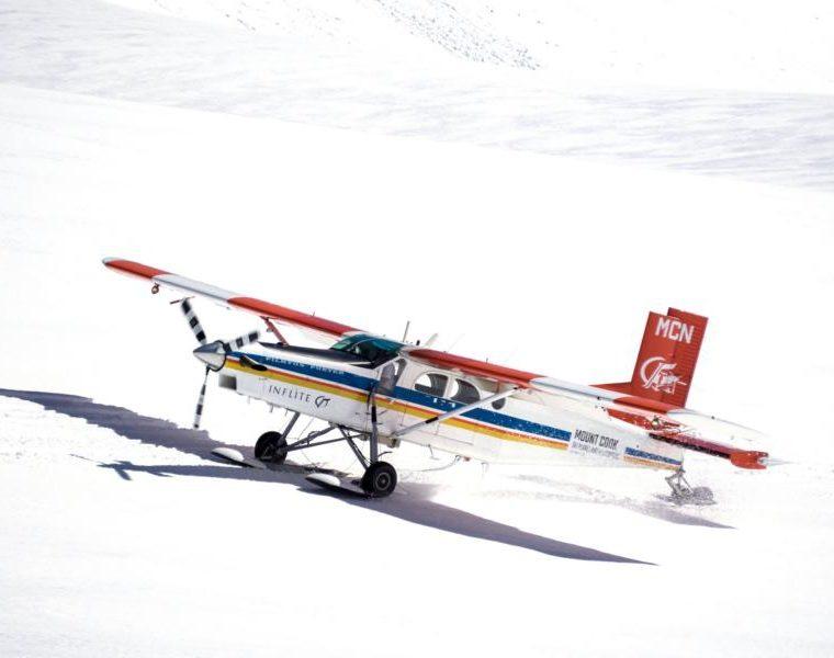 Helikopterflug zum Mount Cook