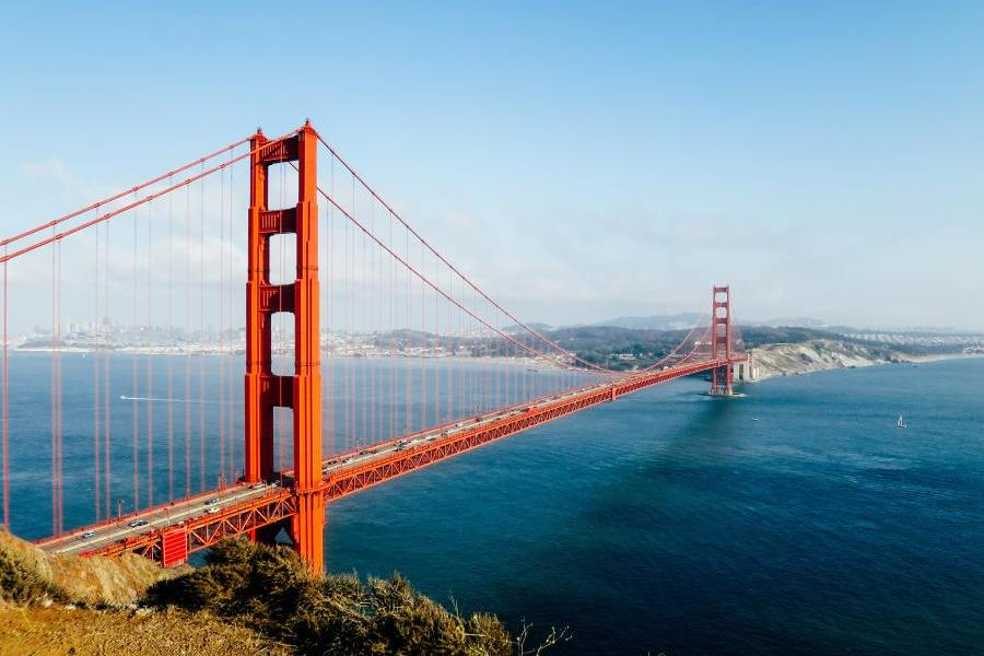 Golden Gate Bridge, USA Rundreise