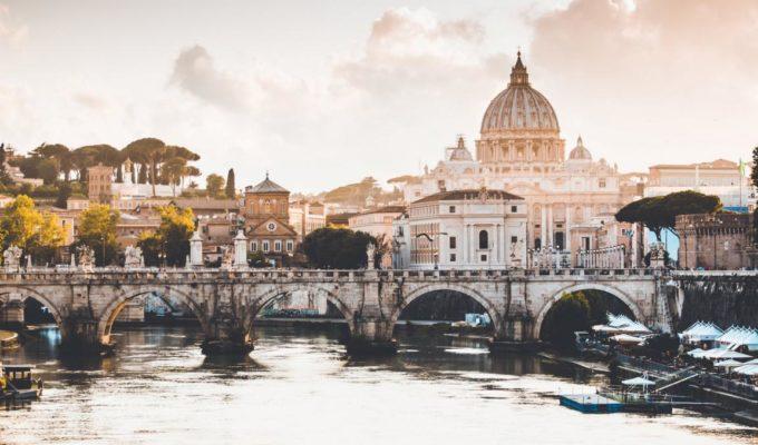 Panorama von Rom - 24 Stunden Rom