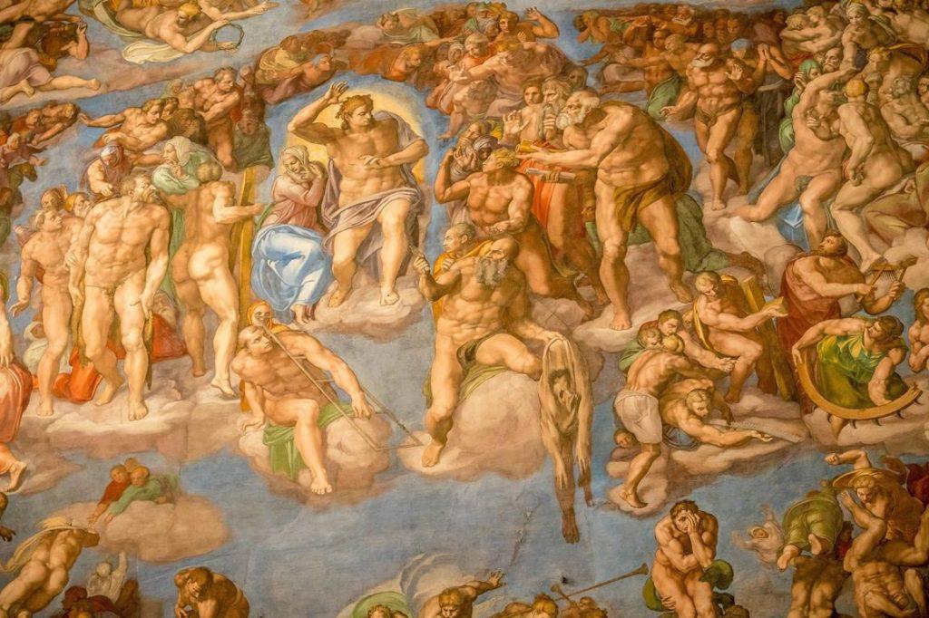 Fresko in der Sixtinischen Kapelle - 24 Stunden Rom