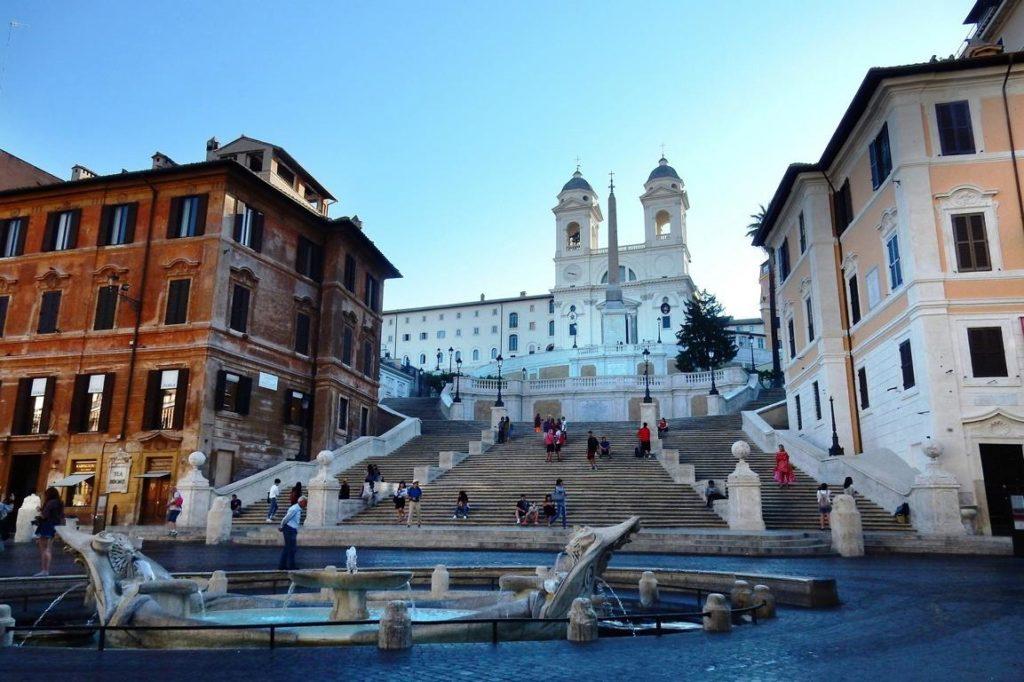 Spanische Treppe - 24 Stunden Rom