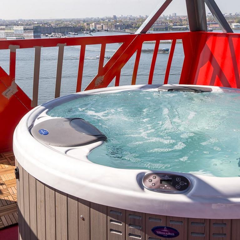 Whirlpool Crane Hotel Faralda, Amsterdam - Außergewöhnliche Hotels rund um den Globus
