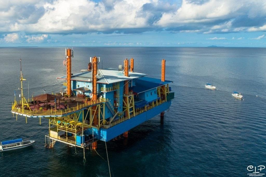 Hotel auf einer Ölplattform, Seaventure Dive Rig - Außergewöhnliche Hotels rund um den Globus
