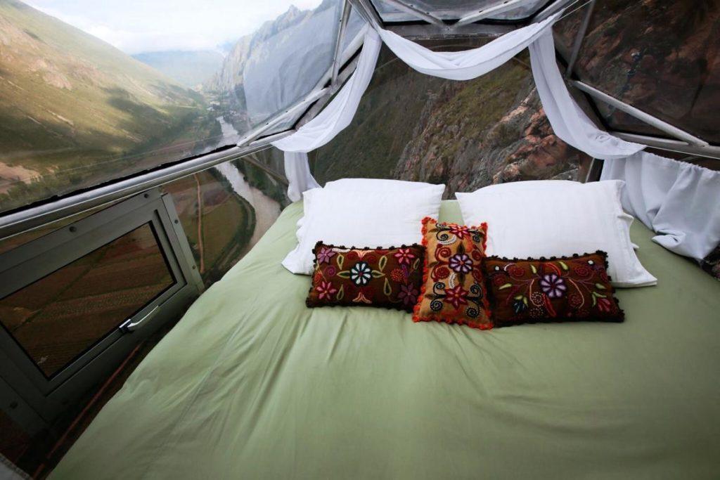 Skylodge Kapsel, Peru - Außergewöhnliche Hotels rund um den Globus