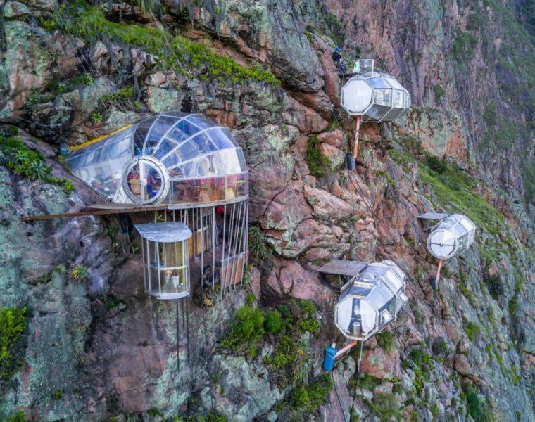 Skylodge, Peru - Außergewöhnliche Hotels rund um den Globus