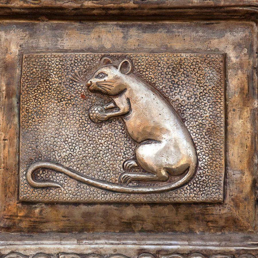 Rattentempel von Bikaner, Indien