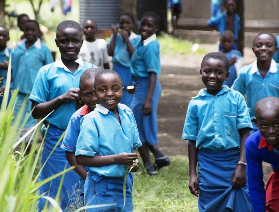 Schule in der Rwenzori Region