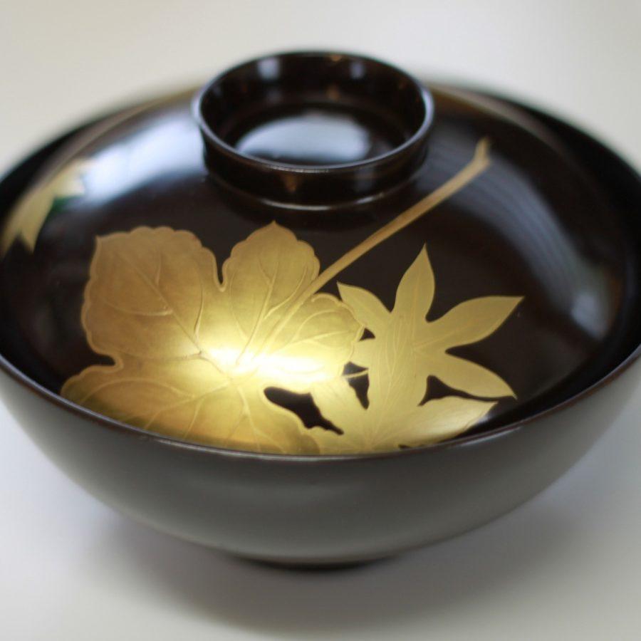 Vase aus Japan, Asiatische Lackkunst, Kunst, Handwerk
