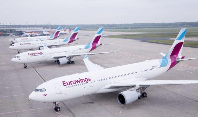 A330 Flotte der Eurowings, Lufthansa Tochtergesellschaft