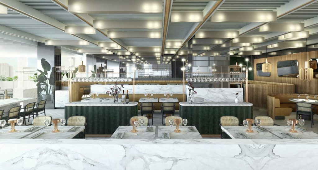 Four Seasons Hotel and Private Residences Montreal , Restaurant