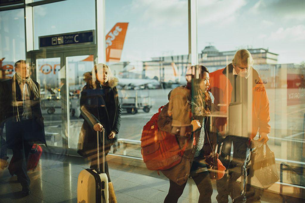 Flughafen, Reisen, Arbeiten in einem Fremdenverkehrsamt