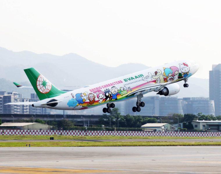 Hello Kitty Jet, Fliegen mit Hello Kitty und EVA AIR