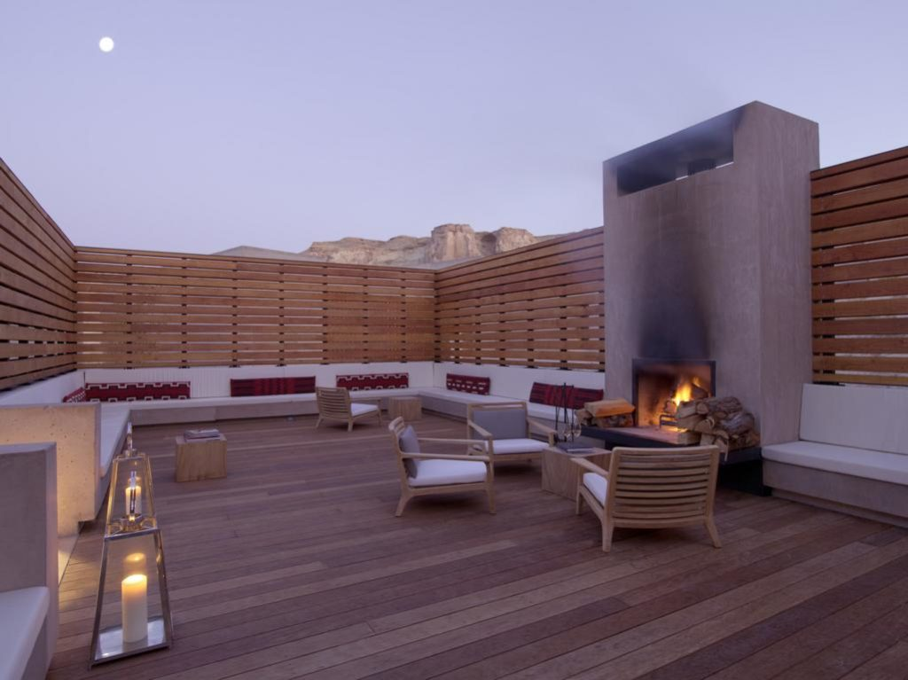 Fireside Pavilion, Amangiri Resort, Hotels zum Stargazing