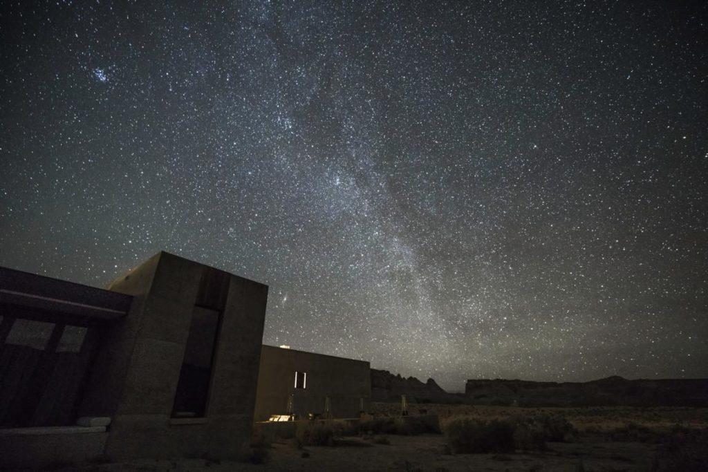Nachthimmel über dem Amangiri Resort, Stargazing Hotels