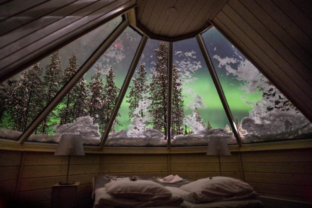Aurora Cabin, Northern Lights Village, Finnland, Hotels Stargazing