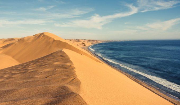 Namibia, Sandwich Harbour, Küstenwüste