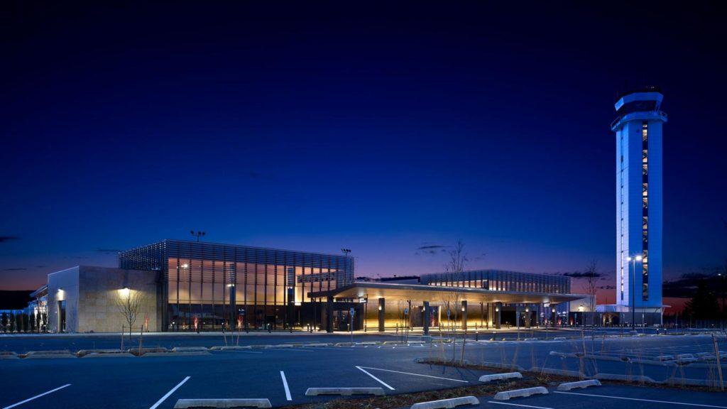 Paine Field Airport, Seattle, Außenansicht