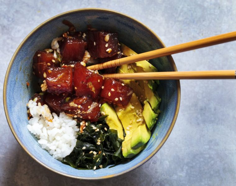 Poke Bowl aus Hawaii